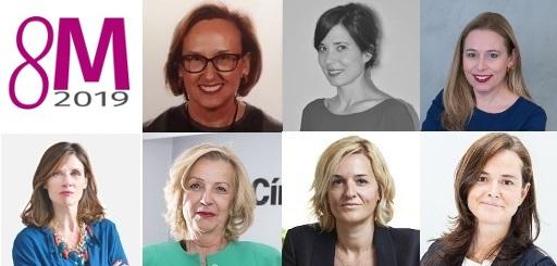 Siete mujeres, siete juristas
