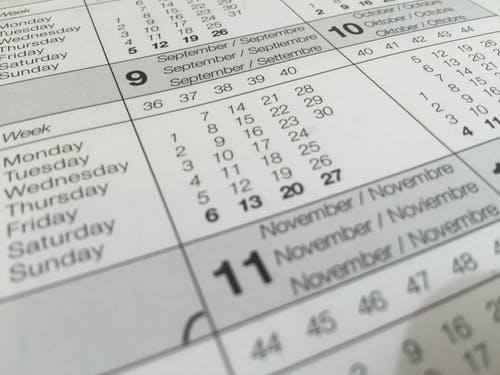 ¿Qué es el calendario laboral?