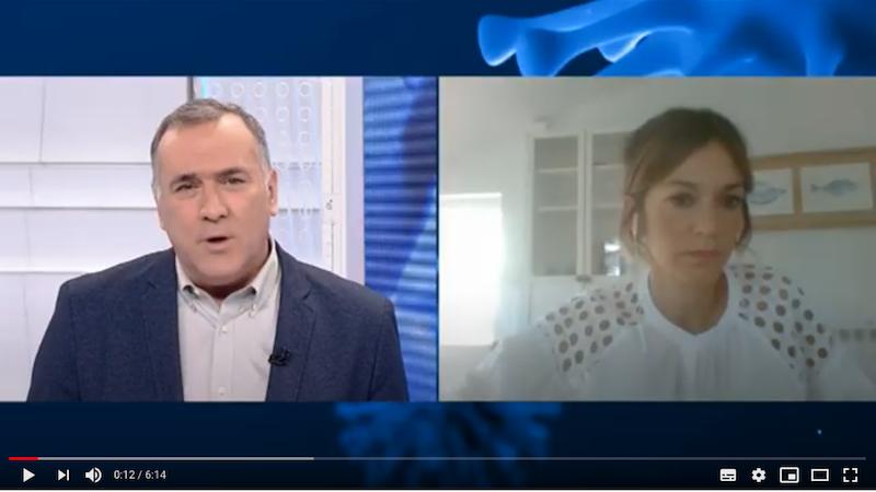 Intervención en televisión: «Los desayunos de TVE»