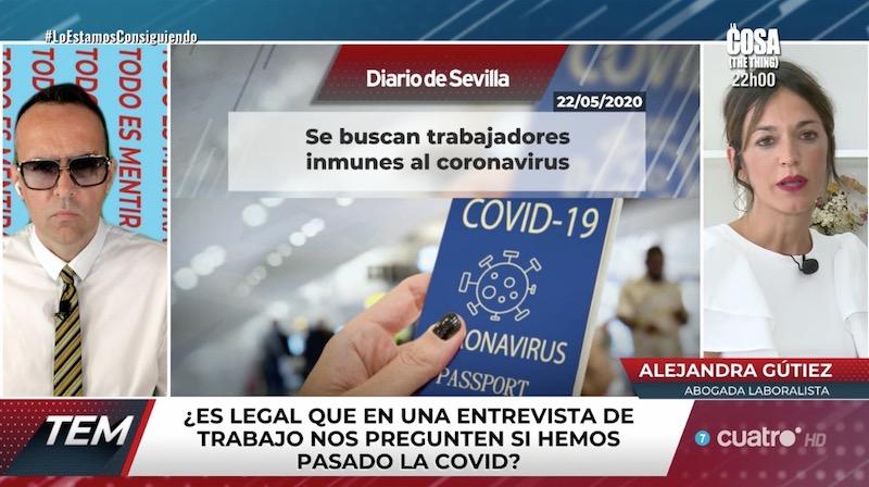 """Intervención en Cuatro: """"todo es mentira"""""""